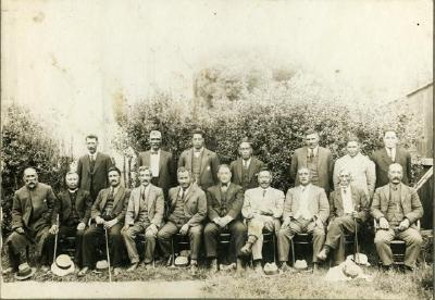 Members of original Arawa District Trust Board