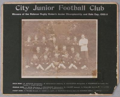 City Junior Rugby team