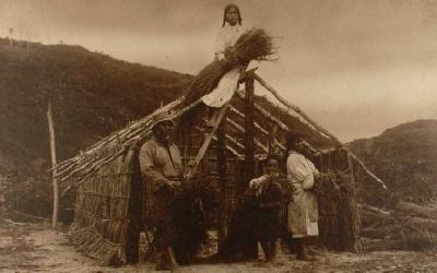 Construction of house - location unknown
