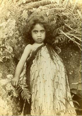 Child with Korowai