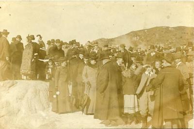 Duke and Duchess of Cornwall and York (King George V and Mary) visit of 1901, Guide Maggie Papakura