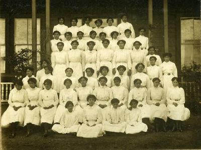 Queen Victoria College girls