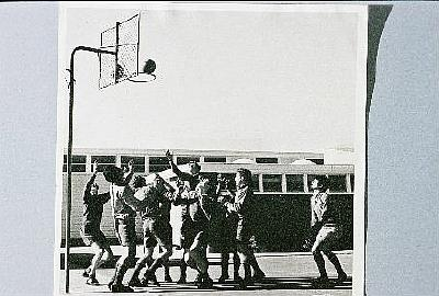 """Basketball at the Taupo District High School"""