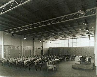 Sports drome conference room