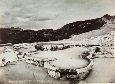 Cold Water Basins, White Terrace