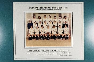 Rotorua High School Old Boys Senior A Team - 1974