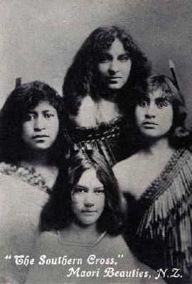 """The Southern Cross"", Maori beauties"