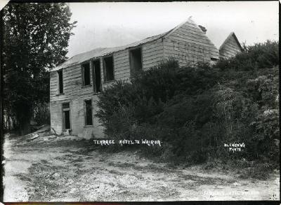 Terrace Hotel, Te Wairoa after the eruption