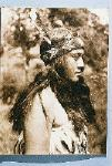 Maori girl (facing left, 3/4 profile view)